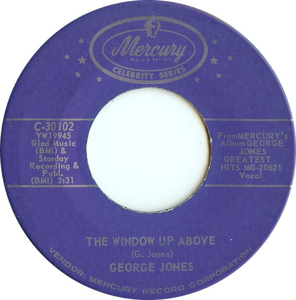 Jones george the window up above tender years grumps for Window up above